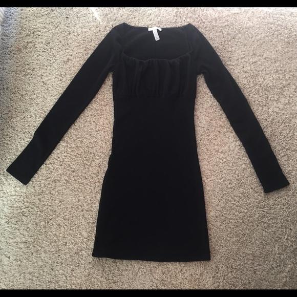 Leith Black Dress XXS